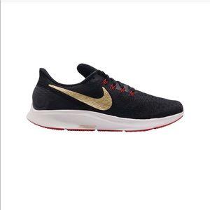 NWOB Nike Zoom Pegasus 35 'Metallic Gold'